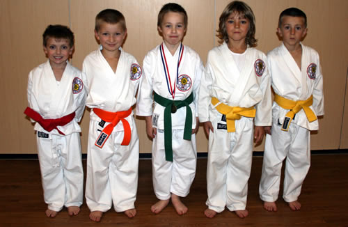 Some of the competitors from Ware Club