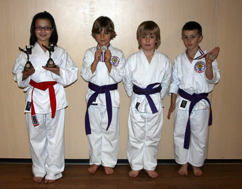 Ware karate club winners